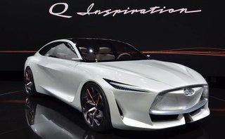Thị trường xe - Infiniti Q Inspiration Concept trang bị động cơ 'đỉnh' VC-Turbo