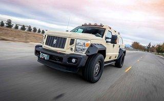 Thị trường xe - Rhino GX Executive - 'Chất' hơn Hummer, 'bảnh' như sedan cao cấp