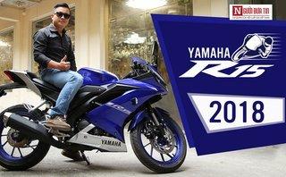Video xe - Trải nghiệm 'hổ giấy' Yamaha R15 2018 giá 93 triệu đồng tại Việt Nam