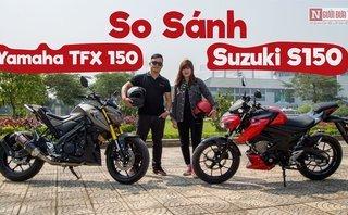 Video xe - [VIDEO] So sánh Suzuki GSX-S150 và Yamaha TFX 150 hút khách tại Việt Nam
