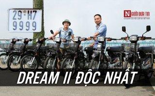 Video xe - Dàn xe Honda Dream II biển tứ quý lên đồ khủng nhất Hà thành