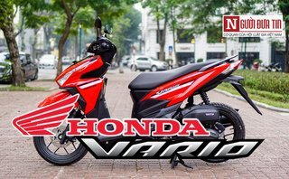 Video xe - [VIDEO] Soi chi tiết xe tay ga Honda Vario 2018: 'Của lạ' trên phố Hà Nội