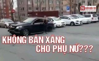 Sau vô lăng - [VIDEO] Thót tim với những pha lái xe 'đẳng cấp' của chị em phụ nữ