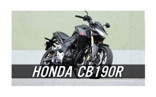 Video xe - Honda CB190R xe côn tay hầm hố giá chỉ 77 triệu tại Việt Nam