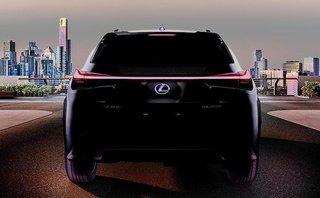 Thị trường xe - Lexus UX - Đối thủ Audi Q3, BMW X1 hé lộ trước ngày ra mắt