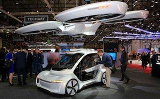 """Cận cảnh xe bay Pop.Up Next được các """"ông lớn"""" Audi, Airbus và Italdesign phát triển"""