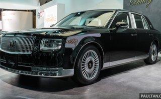 Thị trường xe - Toyota Century 2018 - Xế sang mệnh danh Rolls-Royce của người Nhật