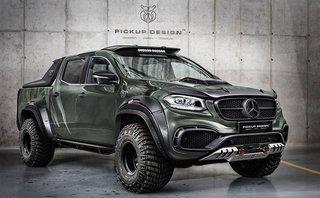 Thị trường xe - Bán tải hạng sang Mercedes X-Class 'lột xác' dưới bàn tay Carlex Design