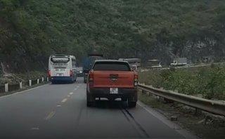 Sau vô lăng - [VIDEO] Xe khách cố tình lấn làn và bài học đắt giá từ chiếc Range Rover