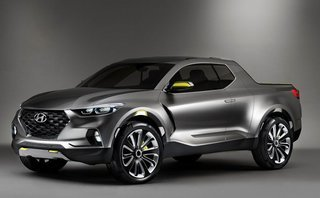 Thị trường xe - Hyundai ấn định ngày ra mắt mẫu bán tải đầu tiên Santa Cruz