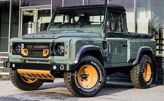 Thị trường xe - Land Rover sắp tung bán tải cạnh tranh Mercedes X-class
