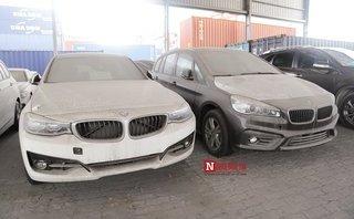 """Đột nhập dàn xe sang BMW trăm tỷ """"phơi sương, dát bụi"""" ở cảng Sài Gòn"""