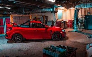 Thú chơi xe - 'Cắt, xẻ' Honda Civic thành bán tải đậm chất xe đua