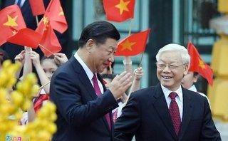 Chính trị - Bắn 21 loạt đại bác chào mừng Tổng Bí thư, Chủ tịch Trung Quốc Tập Cận Bình