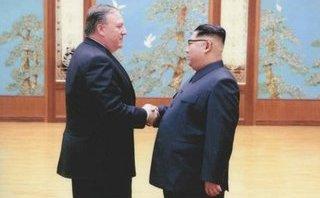 Tiêu điểm - Mỹ bất ngờ công bố ảnh tân Ngoại trưởng Pompeo gặp Chủ tịch Kim Jong-un