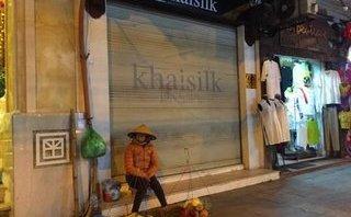 Tiêu dùng & Dư luận - Hàng loạt cửa hàng Khaisilk treo biển tìm khách thuê mặt bằng