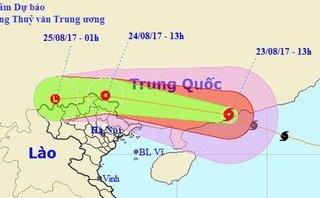 Chính trị - Xã hội - Tin thời tiết ngày 24/8: Bắc Bộ mưa lớn trong 2 ngày