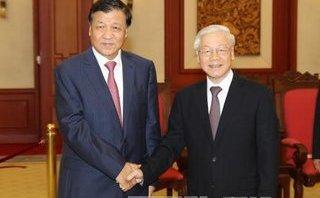 Chính trị - Xã hội - Tổng Bí thư Nguyễn Phú Trọng tiếp Đoàn đại biểu Đảng Cộng sản Trung Quốc