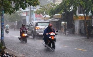 Chính trị - Xã hội - Thời tiết hôm nay: Tây Nguyên và Nam Bộ có mưa rào và dông