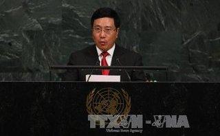 Chính trị - Xã hội - Phó Thủ tướng Phạm Bình Minh tham dự phiên Thảo luận cấp cao Khoá 72 ĐHĐ LHQ