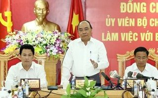 Chính trị - Xã hội - Thủ tướng Nguyễn Xuân Phúc: Xác định khu kinh tế Vũng Áng là động lực phát triển
