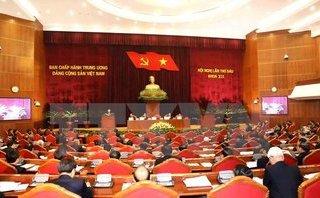 Chính trị - Xã hội - Ngày làm việc thứ 5 Hội nghị lần thứ sáu Ban Chấp hành TW khóa XII