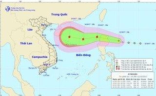 Chính trị - Xã hội - Bão đang tiến vào Biển Đông gây mưa dông gió giật mạnh