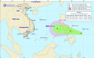 Tin nhanh - Tin mới nhất về áp thấp gần Biển Đông