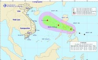 Tin nhanh - Bão Haikui tiến vào Biển đông, gió giật cấp 10
