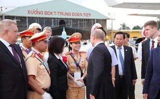 Xã hội - Nữ CSGT bất ngờ được Tổng thống Nga bắt tay cảm ơn là ai?
