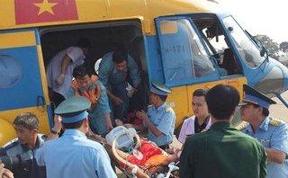 Xã hội - Vượt 2.000km, trực thăng tới cứu ngư dân bị hôn mê