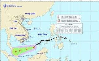 Tin nhanh - Tin mới nhất cơn bão số 15 trên Biển Đông