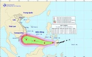 Tin nhanh - Tin mới nhất cơn bão số 16: Đổ bộ vào Biển Đông, hướng vào Nam Bộ