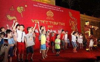 Dân sinh - Vui tết Trung thu lung linh sắc màu ở Hoàng Thành Thăng Long