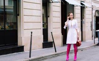 Giải trí - Maya gây ấn tượng tại Paris với phong cách street style