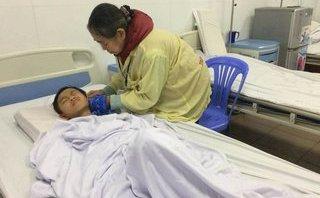 Xã hội - Nước mắt bé trai 11 tuổi đón Tết trong bệnh viện mong bố thiểu năng mất tích về đoàn tụ