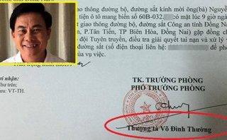 Góc nhìn luật gia - Vụ Thượng tá CSGT Võ Đình Thường: Cần cân nhắc việc bổ nhiệm