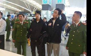 An ninh - Hình sự - Clip: Bàn giao 2 đối tượng truy nã quốc tế cho Hàn Quốc tại sân bay