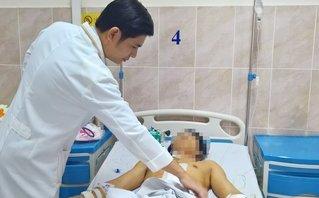 Sức khỏe - Người đàn ông bị đâm thủng bụng được cứu thoát chết