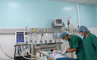 Các bệnh - Ca phẫu thuật tim đầu tiên tại bệnh viện tuyến quận