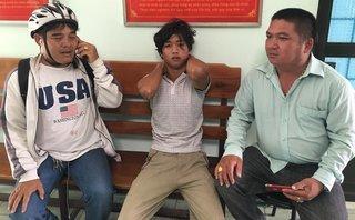 An ninh - Hình sự - Tạm giữ nam thanh niên nghi 'ngáo đá', châm lửa đốt quán cà phê