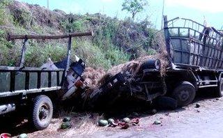 Tin nhanh - Phú Yên:  Hãi hùng xe chở dưa hấu lật nhào, 2 người tử vong tại chỗ