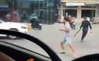 An ninh - Hình sự - Làm rõ vụ gần 20 người dùng hung khí 'giáp lá cà' trên Quốc lộ 51