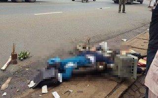 Tin nhanh - Một học sinh lớp 9 chết thảm dưới bánh xe tải