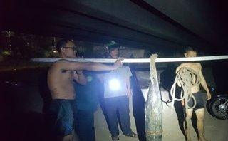 Tin nhanh - Phát hiện 2 quả đạn pháo còn kíp nổ trên sông Đồng Nai