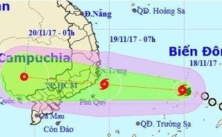 Xã hội - Tỉnh Bà Rịa - Vũng Tàu họp khẩn để ứng phó cơn bão số 14