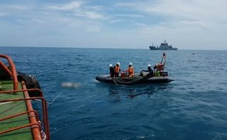 Tin nhanh - Tìm thấy thi thể 2 thuyền viên cuối cùng của tàu cá bị chìm