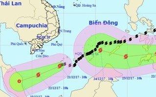 Tin nhanh - Bà Rịa – Vũng Tàu họp khẩn ứng phó bão số 16
