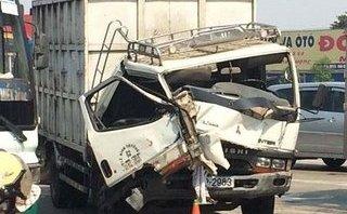 Tin nhanh - Đồng Nai: Đi sai làn thu phí, ô tô tải gây tai nạn liên hoàn