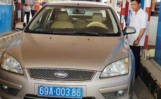 Xã hội - Tài xế xe biển xanh phản ứng tại BOT Sóc Trăng bị kỷ luật